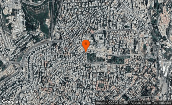 Aerial view of Jerusalem