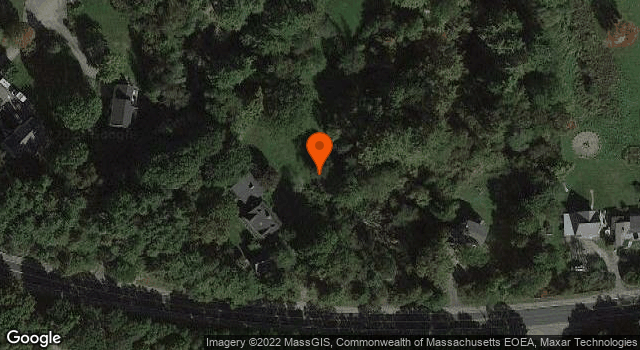 Aerial view of Benaiah Titcomb House