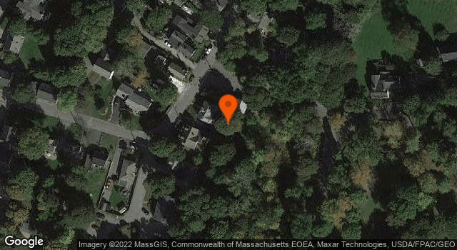 Aerial view of Merrifield House