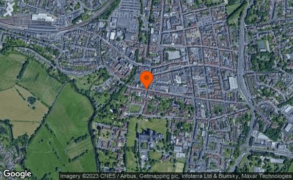Aerial view of Salisbury