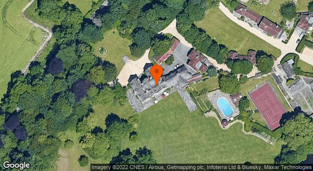 Aerial view of Wilsford House
