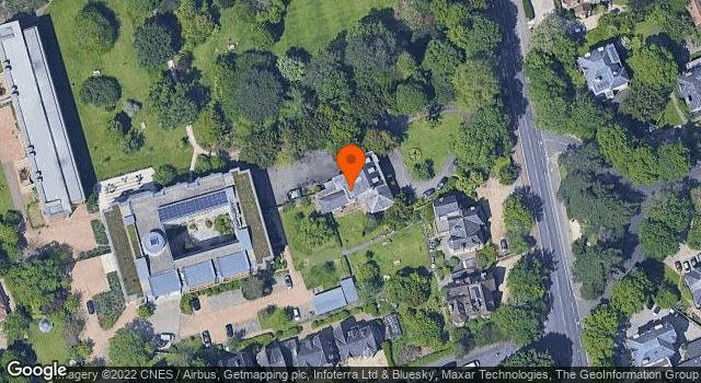 Aerial view of 89, Banbury Road, Oxford