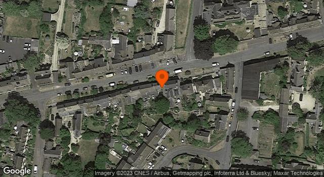 Aerial view of 22 and 24, Newland Street, Eynsham