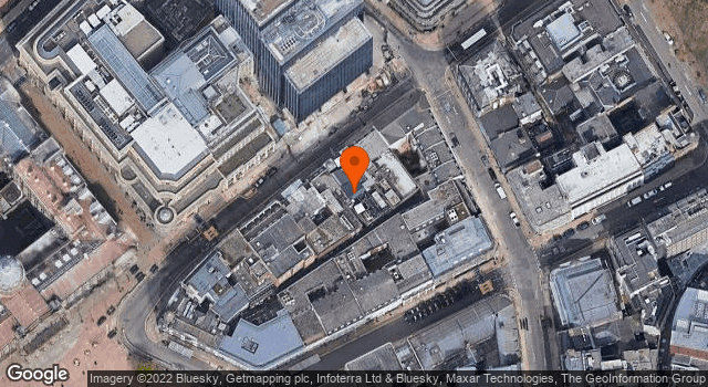 Aerial view of 110, Colmore Row B3