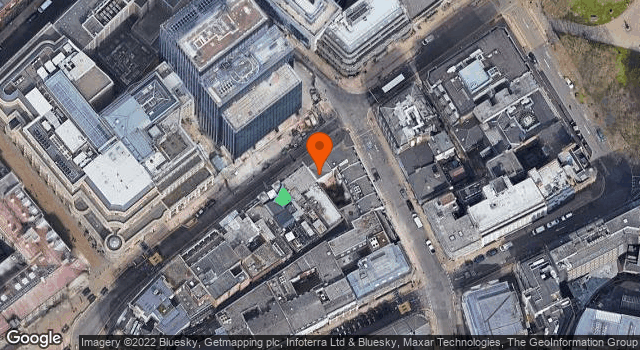 Aerial view of 102, Colmore Row B3
