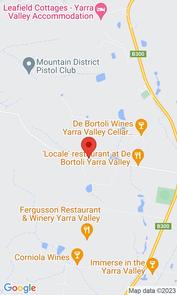 Event: Noble One Wine Dinner @ Locale at De Bortoli