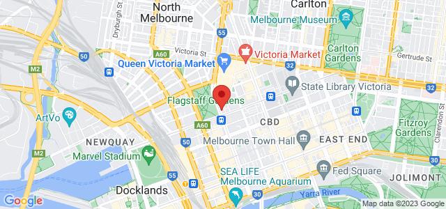 Bird's Basement location on map