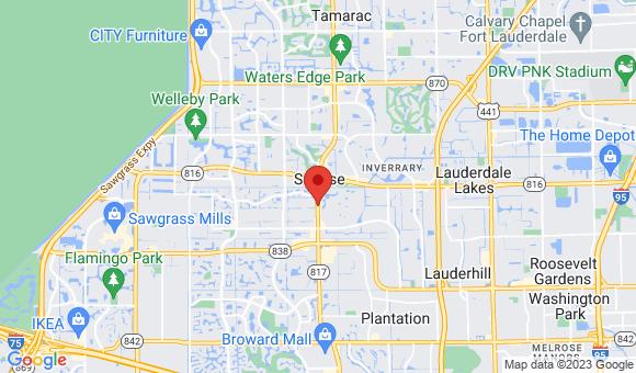 street map for Team Nursing - Sunrise, FL