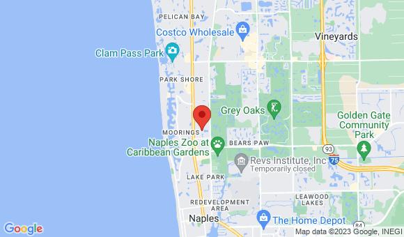 street map for Harborside Healthcare Rehabilitation - Naples, FL
