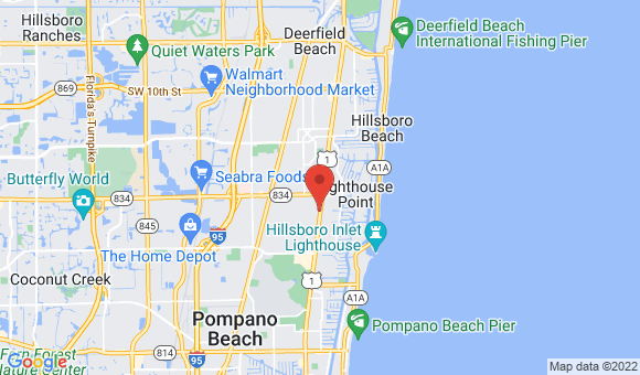 street map for Unlimited Health Care Svc - Pompano Beach, FL