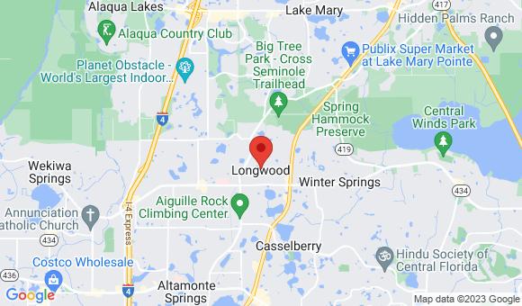 street map for Taj's Adult Family Care Home - Longwood, FL