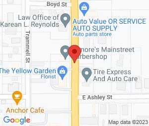 Ann's Barber Shop at Atmore, AL 36502