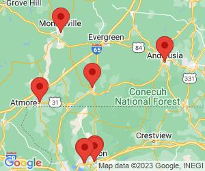 Regions Bank near Brewton, AL