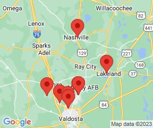 Lowndes County near Lenox, GA