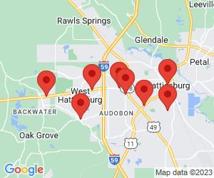 ATM Locations near Petal, MS