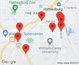 Convenience Stores near Hattiesburg, MS