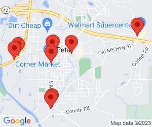 Gas Stations near Petal, MS