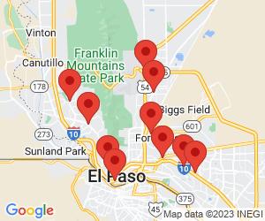 Taco Bell near El Paso, TX