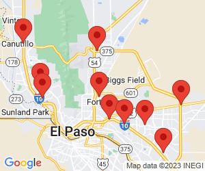GNC near El Paso, TX