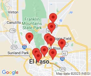 Burger King near El Paso, TX