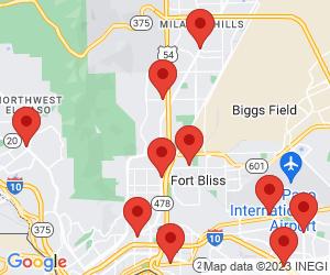 US Post Office near El Paso, TX