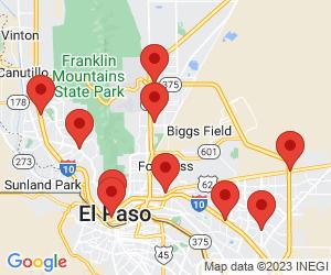 Sally Beauty Supply near El Paso, TX