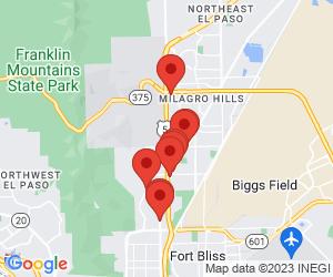 American Restaurants near El Paso, TX