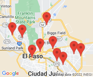 KFC near El Paso, TX