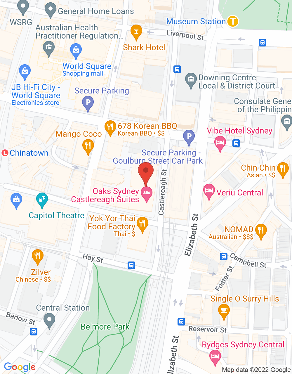 Best Restaurants Office