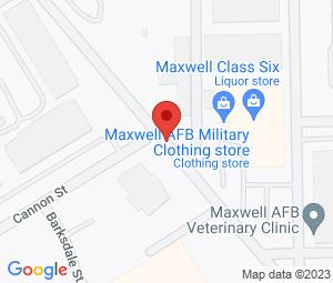 Base Exchange Barber Shop at Montgomery, AL 36112