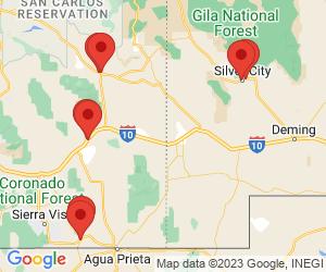 Western Union near Lordsburg, NM