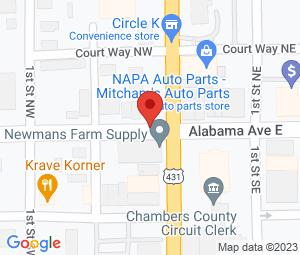 US Post Office at Lafayette, AL 36862