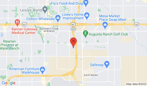 street map for Amanda's Care Home - Mesa, AZ