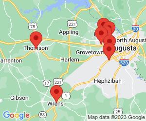 Sprint near Thomson, GA