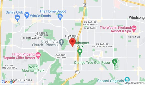 street map for PRATS CARE HOME #1 - Phoenix, AZ