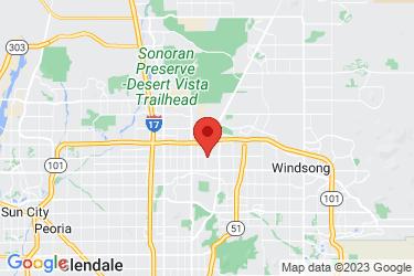 Steel Rose AZ map