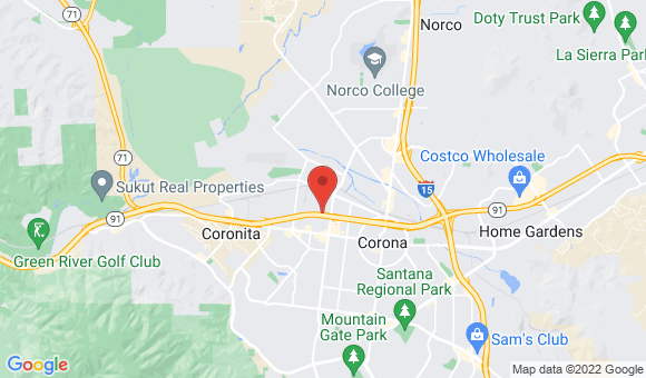 street map for Option Care - Corona, CA