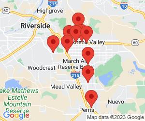 Shell near Moreno Valley, CA