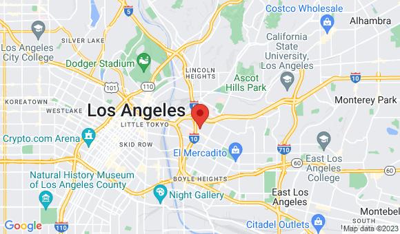 street map for Sakura Gardens - Los Angeles, CA
