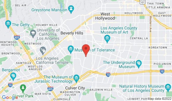 street map for Sunny Hills Assisted Living and Memory Care - Los Angeles, CA
