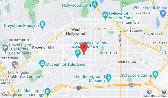street map for Rose's Agency Home Care - Los Angeles, CA