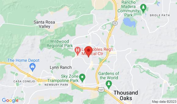street map for Thousand Oaks Home Care IV - Thousand Oaks, CA