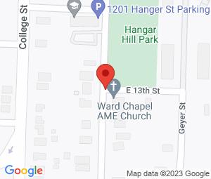 Ward Chapel AME Church at Little Rock, AR 72202