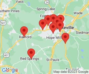 KFC near Parkton, NC