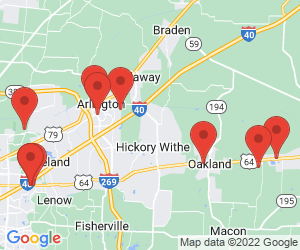 Medical Clinics near Gallaway, TN