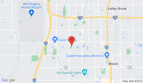 street map for Village on the Park at Oklahoma City - Oklahoma City, OK