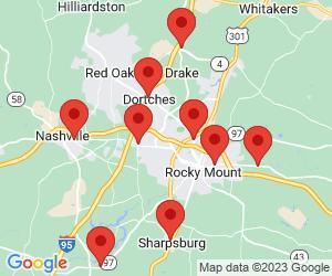 Exxon near Rocky Mount, NC