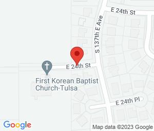 First Korean Baptist Church at Tulsa, OK 74134