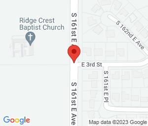 Ridge Crest Baptist Church at Tulsa, OK 74108