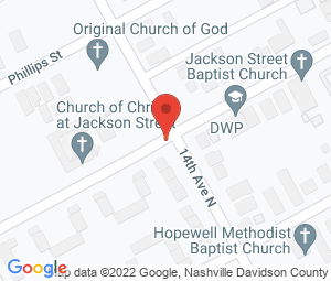 Jackson Street Church-Christ at Nashville, TN 37208